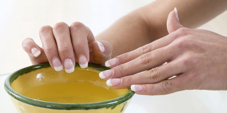 how to take acrylic nails off