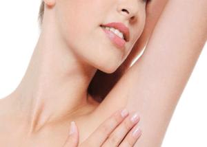 remove underarm hair