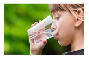 drink extra mineral water